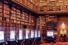 Historic library in central Milan