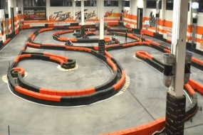 Karting ring near Milan