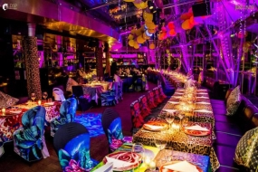 An exclusive disco-restaurant